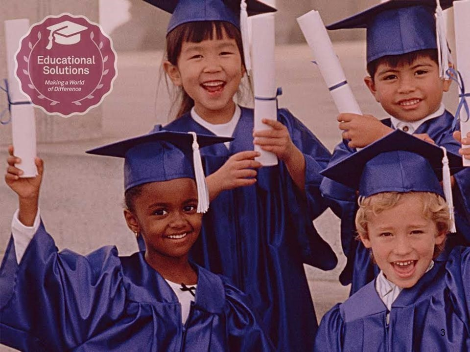 Students holding diploma