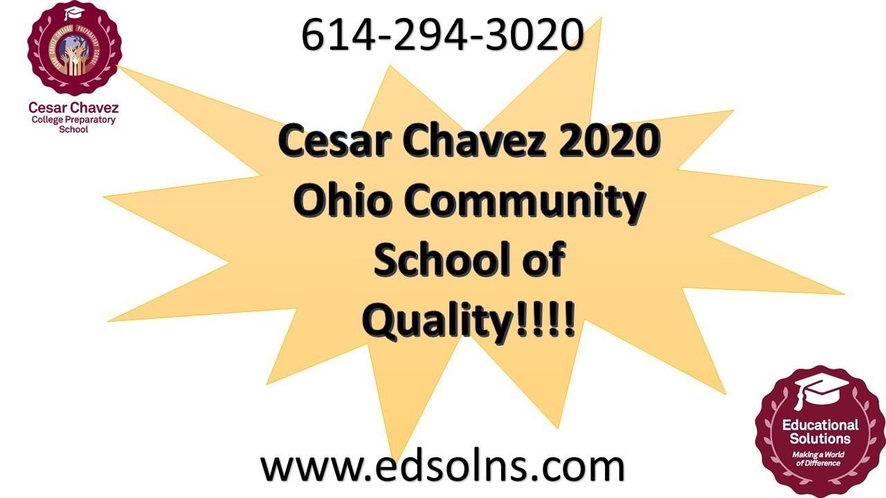 Cesar 2020 Ohio Community School of Quality