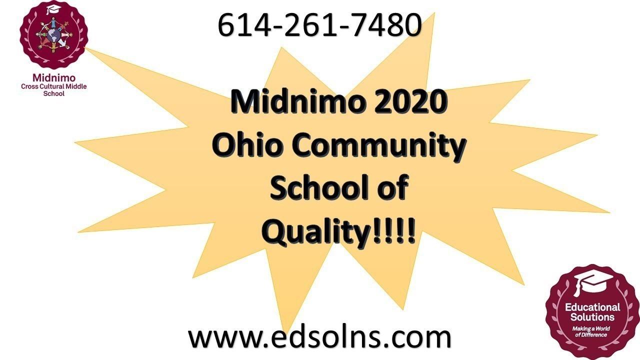 Midnimo 2020 Ohio Community School of Quality